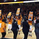 Senior Day at @vol_hoops! Always emotional. Lets do this #Vols! http://t.co/4jtHKGxwWg