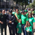 The Partridge family getting ready to start the St. Pats parade in Fort Lauderdale! #wintoday http://t.co/xhlLMIkd92