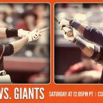 RT @SFGiants: Saturday To Do list Watch #SFGiants today 12:05pm on @CSNAuthentic Productive Saturday http://t.co/iUxwo8qMO5