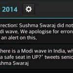 Nehru Dynasty channel @ndtv should explain the source of this wrong information. Lets boycott @ndtv http://t.co/dzGaqEyToj