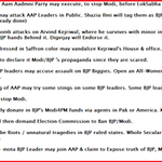 #KejriwalStunt Here comes the list of stunts #AAP may try next-> Beware BJP & @narendramodi #AAPDrama never ends -> http://t.co/M1oQTG3q57