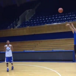 """@BleacherReport: VIDEO: Tony Romo & Jason Garrett shoot hoops with Duke players http://t.co/hgWKam43Sy http://t.co/UKdPwKNNVC"" @gamatron"