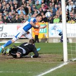 RT @Official_BRFC: PIC: Beardsleys first half goal #BristolRovers http://t.co/1fsh0brcG0