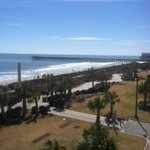 View from our room. Its official. Im not leaving. ☀️ #SB14 #MyrtleBeach http://t.co/i3eFEjQWli