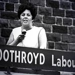 Betty Boothroyd MP for West Brom & @UKLabour NEC in 80s 1st ever woman Commons Speaker #IWD2014 http://t.co/QYF39VRepk
