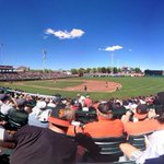 #SFGiants in sunny Scottsdale: (via @itsallyduhh) http://t.co/ygJbChx2YS