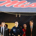 RT @SpiritBen: RT @OleMissPix: Love this pic of Marshall watching video from tunnel! @OleMissMBB #SeniorDay http://t.co/EuIKWKU4fu