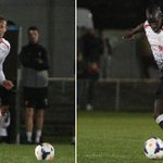 Lucas and Sakho in action for the U21's yesterday!