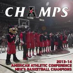 """@GoBEARCATS: The #Bearcats have clinched the first @American_MBB conference title! FINAL - UC 70, Rutgers 66. http://t.co/tmvxVJ7YT4"" "