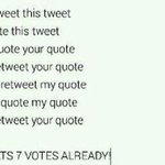 How me and the beautifully perfect person reading this can make 7votes together please #KCA #Vote1DUK #Vote1DUK http://t.co/eCXpgpWwVw
