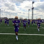 RT @LSUfball: Football is back! Spring practice is underway! #LSU http://t.co/ErEaCaxJsP