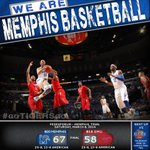 No. 20 Memphis defeats No. 18 SMU 67-58 on senior day to end regular season. #gotigersgo http://t.co/zmUOfvoxwI