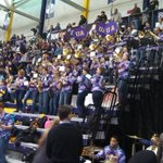 The UAlbany Pep Band is ready to rock SEFCU Arena! #Chance2Dance http://t.co/pyAeVYeMCx