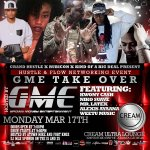 #Monday March 17th  #GME takeover @hustle_flowatl  @kwony_cash @creamultralounge  @TRACYE_BIGDEAL http://t.co/LNWNrcdRUo