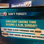 RT @rduns_waow: Dont forget about the clock change this weekend! #Newsline9 @WAOW http://t.co/jEkoyhgWGH