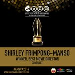 RT @africamagictv: #AMVCA2014 Best Director award goes to: http://t.co/IIsnVe7pwV