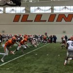 First day in full pads! #Illini #SpringBall http://t.co/EEGm9PqSgw