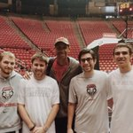 "RT @ryberryman: ""@CONye_: Got to meet one of the greatest to play the game of basketball @ReggieMillerTNT #GoLobos @ryberryman http://t.co/5c7zBzFra4"""
