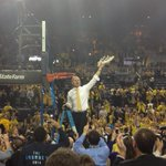 John Beilein finishes the net off. http://t.co/ffgULU1b8Q