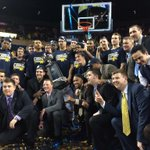 RT @umichbball: At the top its just us! http://t.co/U4RauJmsGj