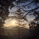 Sunrise at Landour, Mussorie.:)