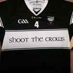The new @KukriIreland Hurling Jerseys. Shoot the Crows are the Hurling Team sponsors for 2014 http://t.co/sKuTo25R0c