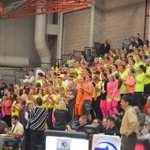 RT @BHallESPN: Cardinal Crazies opting for the neon look today http://t.co/OPkd4cNZv9