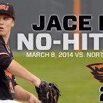 RT @Beaver_Baseball: .@JaceFry has thrown the 5th no-hitter in Oregon State history. #gobeavs http://t.co/ImzgU46ZPb