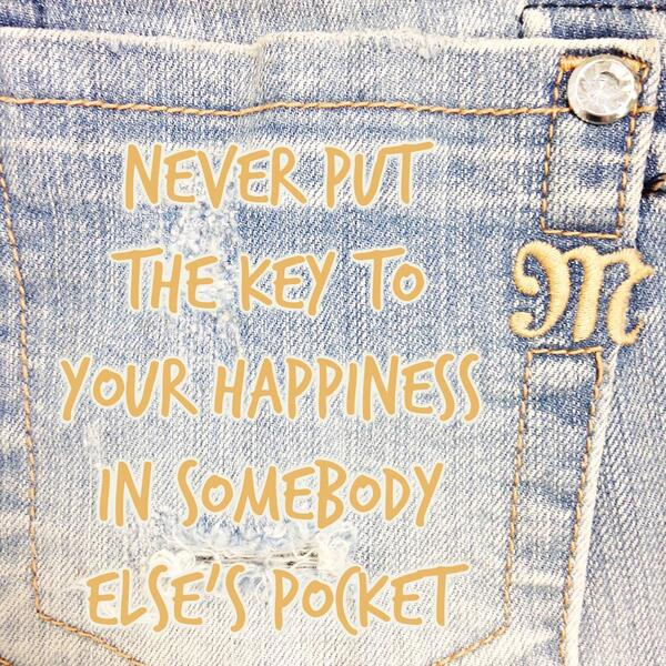 Your happiness should be determined by YOU! #MissMeJeans http://t.co/WjaezZ2QXm