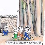 RT @StanSteam2: Its a disgrace! We have to stop locking up our trees Ron Tandberg toon #auspol #insiders #asylumseekers #forests http://t.co/IOBo2XvEms