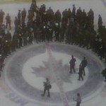 RT @CJOBSports: #NHLJets meeting the Military on Appreciation Day. http://t.co/NV5dLFLcFN