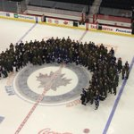 RT @mremis: #NHLJets and Military members post game group picture. Pretty cool. http://t.co/ugBpgbyrIJ