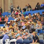 """@BHallESPN: Archies fans ""sleeping"" during Coyle player intros http://t.co/No96TL5spB""Archie fans copying us.good try.they have 20 kids "