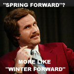 "Ron Burgundy nailed it, #Winnipeg! Haha! ""Spring"" forward tonight! ~@ChrisReid83 http://t.co/o8qnbA76s5"
