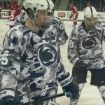 Penn State will wear these blue & white camo uniforms tonight for Military Appreciation Day http://t.co/wq3NnmykaO