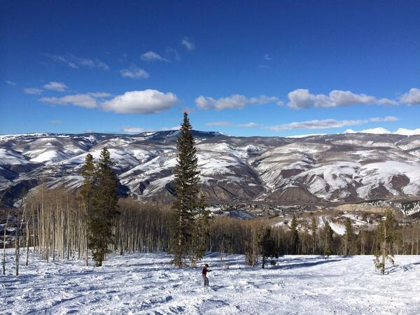 It was a beautiful day in Avon! @beavercreekmtn http://t.co/tBCgELBzRg