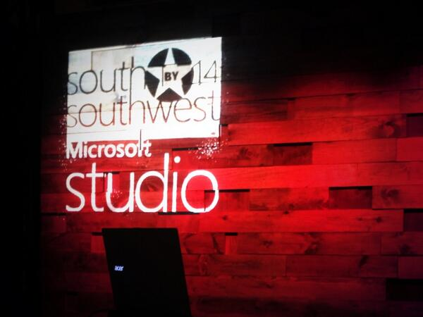 Best.Party.Ever! Thanks for the new  @Windows laptop!  #MicrosoftStudio #ReadyWhenYouAre #SXSW http://t.co/uIYgKScUer