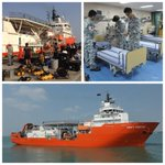 "MV Swift Rescue, a Submarine Support and Rescue Vessel (SSRV), joins search efforts for #MH370. http://t.co/6N35yC2agT"" Tq Singapore."