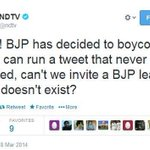 RT @BJPLucknowBJP: #BoycottNDTV This Proves @NDTV does FAKE reporting . Intentions clear via this tweet http://t.co/63wkI9ZXCz