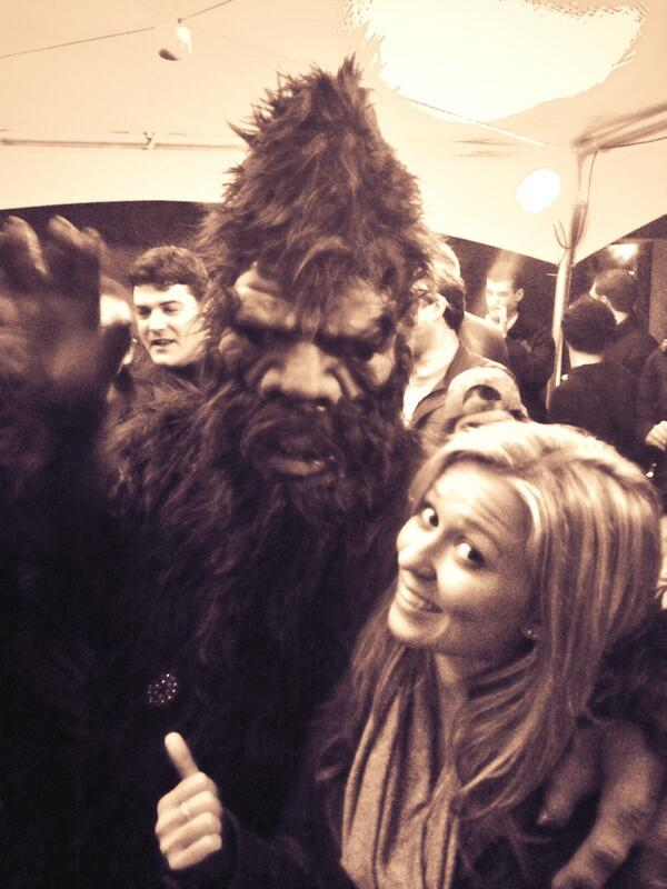 Found him. 'Squatch selfie. #sxbigfoot #SXSW http://t.co/bM6c6Sz3Gn