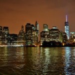 Lower #Manhattan #NYC tonight. http://t.co/pJKbQy3QbX