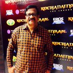 At #Kochadaiiyaan audio launch. Big red carpet affair, with tight security. http://t.co/9Ox5H4Zugd