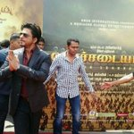 RT @rameshlaus: Here is Chief guest of the #Kochadaiiyaan audio launch event.. @iamsrk http://t.co/EF60F3ZCUu