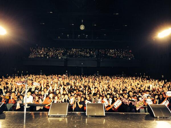 SKY-HI TOUR 2014 ~Trip of TRICKSTER~ 9公演目はファイナル、Zepp DiverCity、予想を遥かに超えた盛り上がりで全行程終了!!あっという間でした...また逢いましょう( ´ ▽ ` )ノ http://t.co/bIXfBSINEi