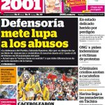 RT @MeridianoTV: #Portada2001 Defensoría mete lupa a los abusos http://t.co/C59GVsGkRm