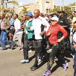 RT @StandardKenya: #BeyondZeroCampaign: This is the first time a first lady is running a marathon in Africa http://t.co/gg785hULx9