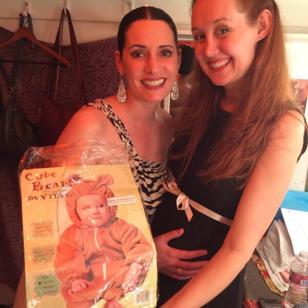 Boozy Aunt @pagetpaget bought baby their first costume! She bought it for every day wear... http://t.co/Lu4qLuPouz