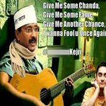 RT @somanathg: #NaxalAAP #SatyamevJayate #AAPDrama Gimme sum chanda, gimme some fame, gimme another chance, I wanna fool u once agn http://t.co/ghAmtLd0SI