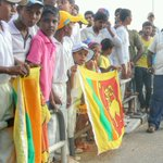 Sri Lankan fans waiting for #OurLions with the #AsiaCup http://t.co/QKzUMrRjFL