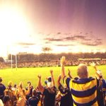 RT @AshtonRigg: @TheParraEels kicking off the second half with gusto #NRLparwar #blueandgold http://t.co/tqEHrUeiwM